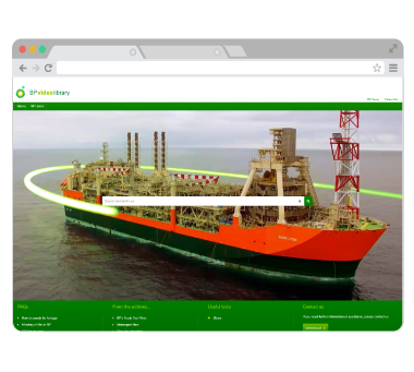 DAM example - BP - Video management and Collaboration