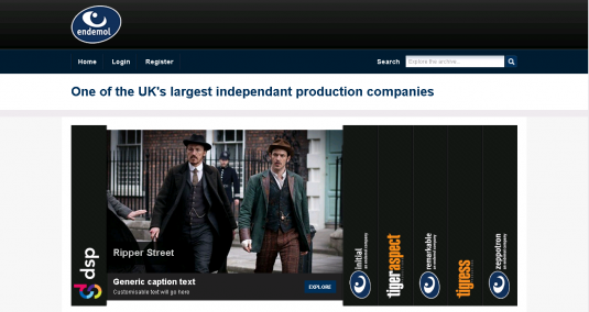 An online catalogue of programmes for Endemol