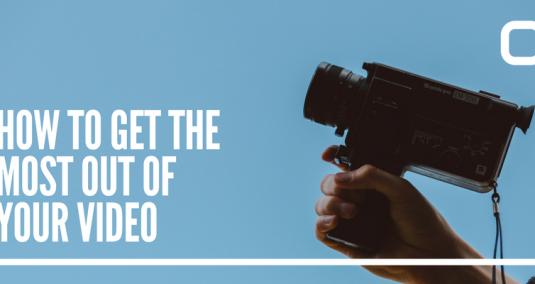 A handheld video camera