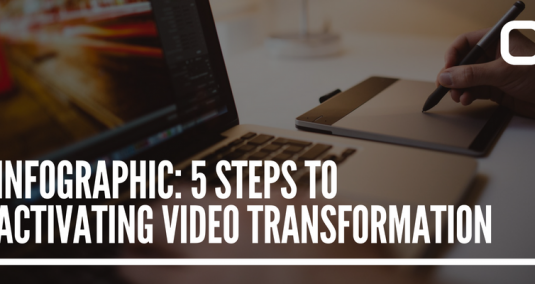 Infographic: 5 Steps to Activating Video Transformation