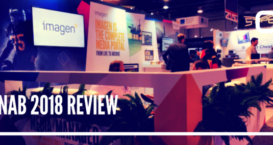 Imagen's stand at NAB 2018