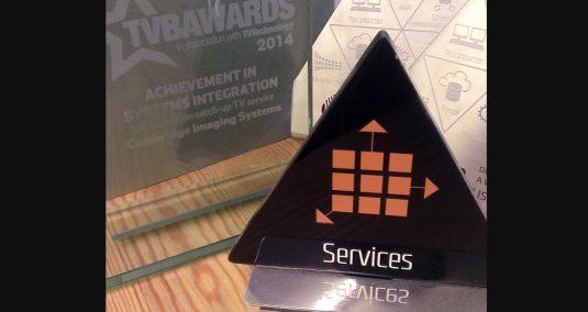 Imagen's IABM awards 2014