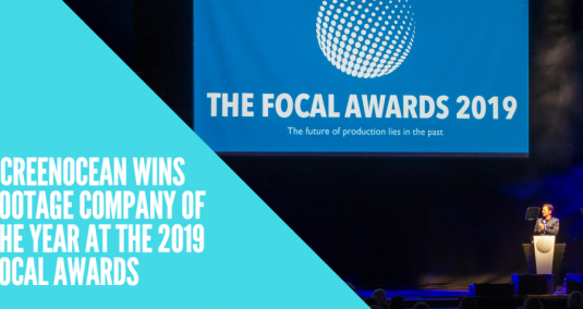 Screenocean wins Footage Company of the Year at the 2019 FOCAL Awards