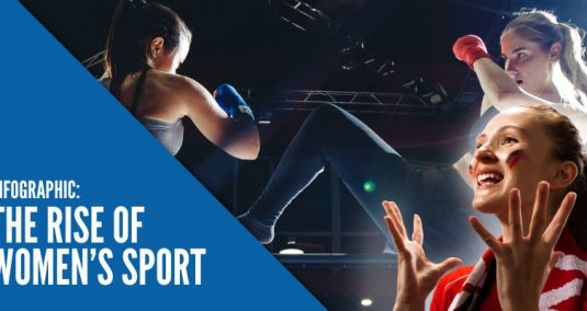 Infographic: The Rise of Women's Sport