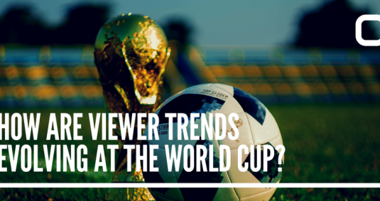"""The football world cup, and the words """"How are viewer trends evolving at the World Cup?"""""""